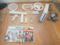 Wii console ***