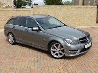 Mercedes-Benz C Class 2.1 C250 CDI AMG Sport 7G-Tronic Plus 5dr (COMAND)