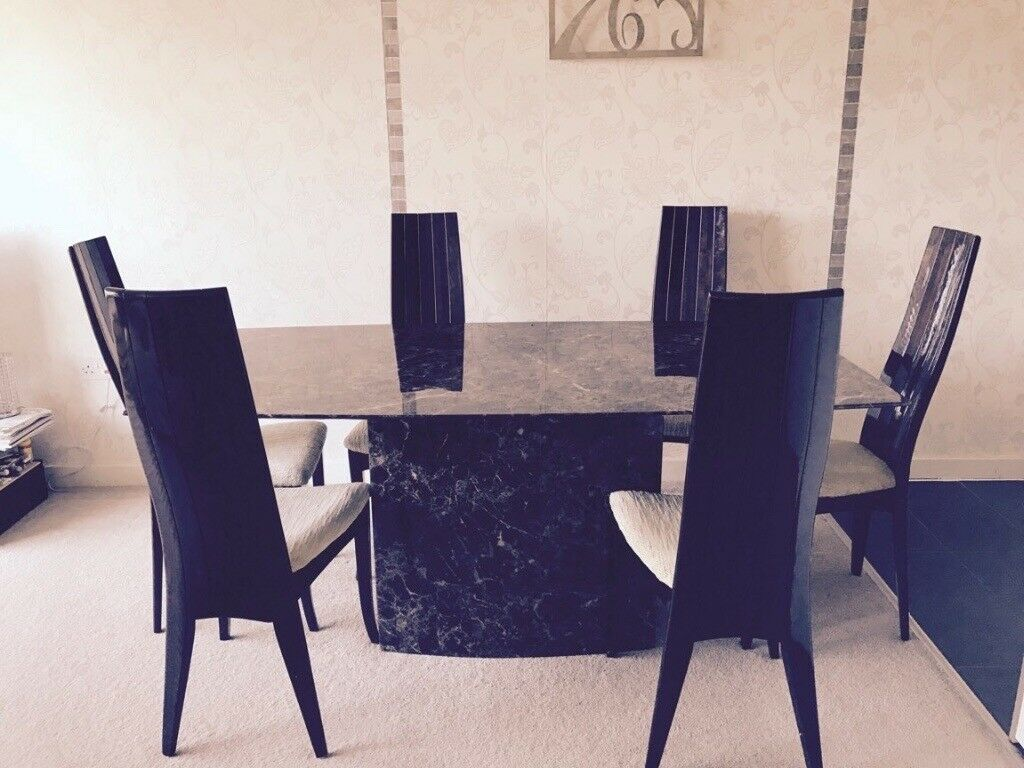 Beautiful Furniture Village Dining Table And 6 Chairs In Isleworth