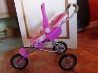 Toddler toy pram