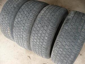 Four 235-60-15 tires $150.00