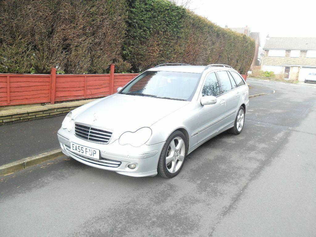 2005 mercedes benz c class c320 cdi avantgarde se 7g tronic estate w203 face lift