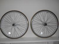 RHINO Ceros 700c Wheel set for fixie/single speed, Joy Tech Hubs & inc Kenda tyres
