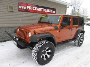 2011 Jeep WRANGLER UNLIMITED X - SPORT - JACKED UP!!!