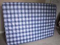 Lightly Used Double Mattress Clean Condition, Ideal For Christmas Visitors