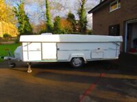 Carousel Clubman Folding Caravan 2001, A1 condition, easy tow