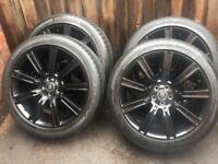 "Genuine 20"" Range Rover Evoque Freelander Dynamic Discovery Sport Alloy Wheels Tyres"