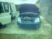 Vauxhall meriva 1.6 manual braking