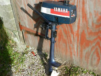 Yamaha 2hp 2 Stroke Lightweight Outboard Engine for Dinghy or Rib etc