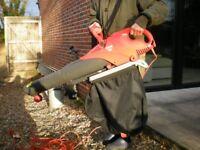 Flymo Scirrocco 3000W leaf blower/vacumn.