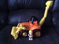 ELC digger toy