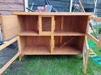 Standard size hutch for sale