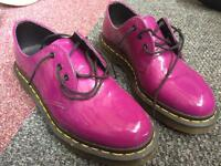 Doctor Martens shows, size 4