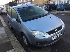 Ford FOCUS C-MAX DIESEL 2006 ***LOW MILES**SH, 1 Owner, Only £1495