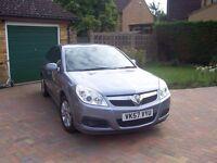 Vauxhall Vectra (2007) 2.2i Direct Design, mileage 37,879