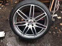 """22""""alloys Audi Porsche Range Rover"""