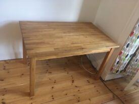 Ikea table 120x75cm