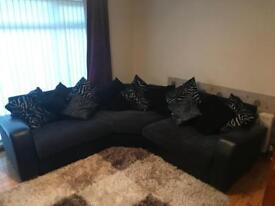 Corner sofa and cuddle seat