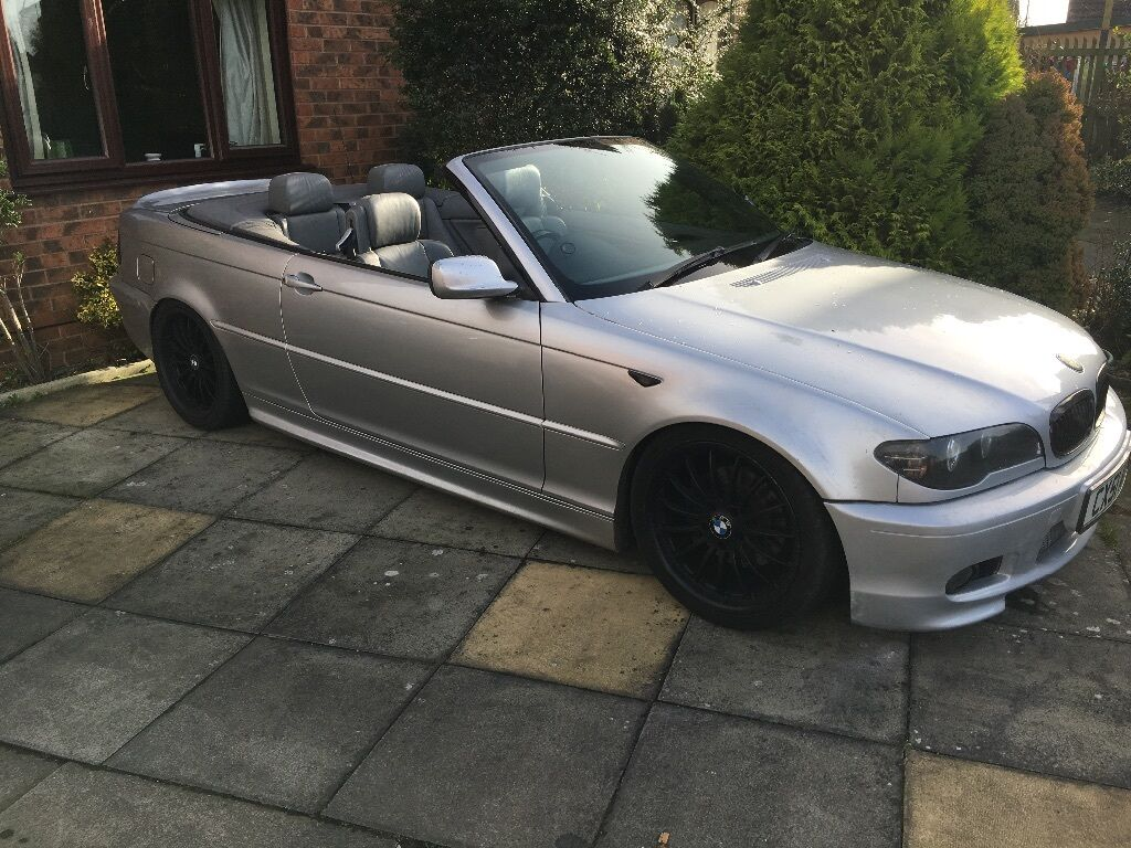 Modified Bmw 325ci Convertible Euro Stance Drift In