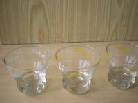 Four Lo-Ball Alcohol Drinking Glasses