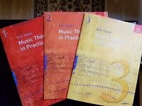 ABRSM Music Theory Grades 1,2,3,4 & 5 workbooks, model answers and past papers - 31 books in all