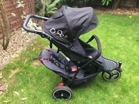 Phil and Ted's Dot V3 double stroller