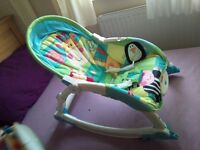 Fisher Price Swinging and vibrating baby chair £15
