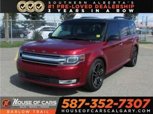 2014 Ford Flex Limited / Navi / Leather / Bluetooth