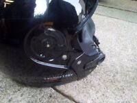 Lazer flip up crash helmet