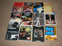 For sale 43 Guitar books , music books , TAB , some rare titles - SEE 4 PICTURES