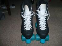 SFR Raptor quad skates with slick wheels UK 7 Very good condition.