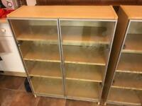 2x IKEA Billy bookcases in Beech