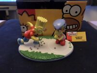 The Simpsons - Coalport Character China Collection - Losing His Marbles, Will Work For Duff