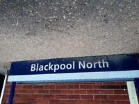 Blackpool station sign