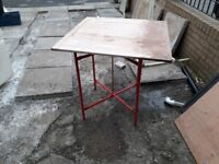 plasters spot board and stand also electric mixing paddle