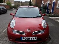 Nissan Micra 1.2 2009 excellent condition