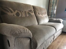 2 Seater Electric recliner & 3/4 Seater manual recliner