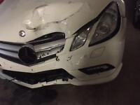 Wanted Mercedes E class w207 coupe frontal bits