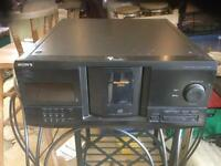 Sony separate CD player - 200 disk storage