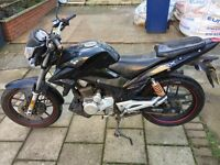 Motorbike 125 cc lexmotor zsx good condition077 ... call 07583501997