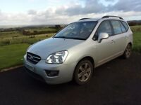 7 seater KIA carens 2009 167,000 miles nearly out of mot don't have the time to mot it
