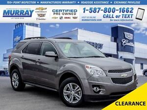 2011 Chevrolet Equinox **Low kms!  Remote Start!**