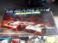 Scalextric sets Le Mans 24hr and formula one
