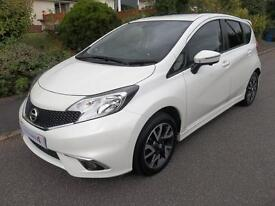 Nissan Note 1.2 DiG-S Tekna 5dr Auto [Style Pack] (white) 2014