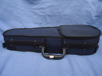 Unused As-New Violin case for 1/16th size violin