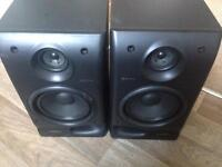 Sony Hi Fi Speakers - Excellent Sound - With Wire - Free Del' In Dundee