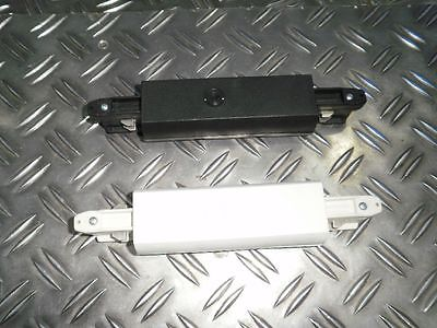 Längsverbinder schwarz / weiß für 3-Phasen 230V GLOBAL Stromschienen