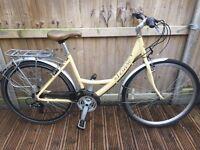 Viking Vision Ladies Dutch Style Bike Step Through Hybrid Comfort