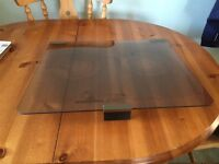 Caravan Glass Hob Cover.