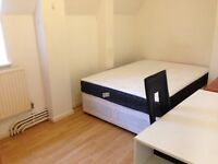 Double room to let in flatshare at bow church & Mile End
